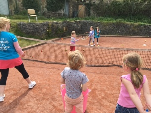 Tennis with Sophie Red Group 4-7yr olds